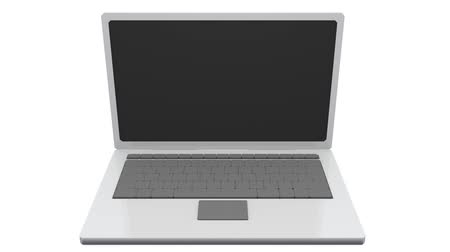 notebooklar : A laptop Stok Video
