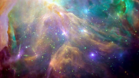 végső : Colorful and  dynamic nebula