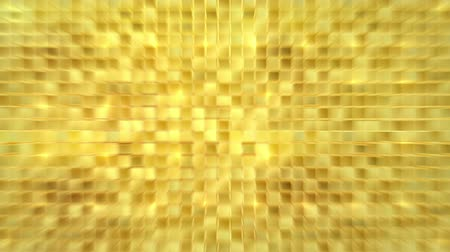 ícone do computador : Gold background loop, blurry version Stock Footage