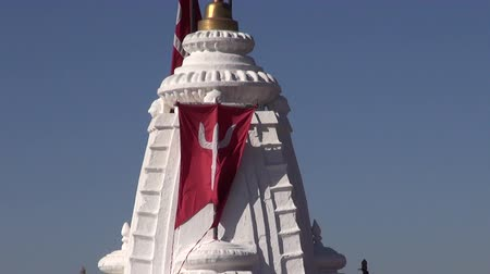 tapınaklar : hindu temple with Shiva sign in Jodhpur, Rajasthan,India