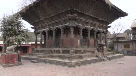 patan : old historical abandoned architecture in Katmandu,Nepal