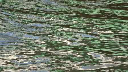 cikkcakk : River water colorful background with city reflections