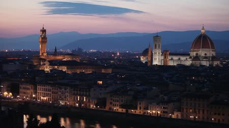 piazza del duomo : Medieval town of Florence with Duomo, Italy