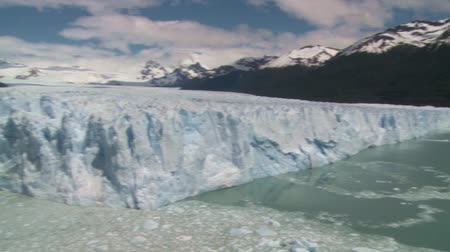 elétron : Panoramic view of Perito Moreno glacier in El Calafate place in Argentina