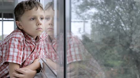 resentment : sad little boy