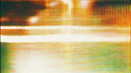 dalgalanan : Video Flux 002: Video background of television screen pixels fluctuating with color and video motion (Loop).