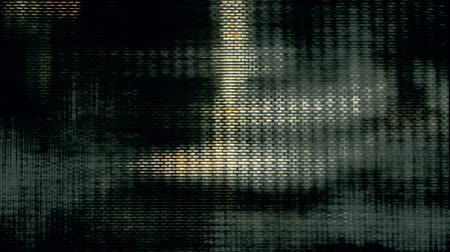 transmit : Video Flux 005: Television screen pixels fluctuate with color and video motion (Loop).