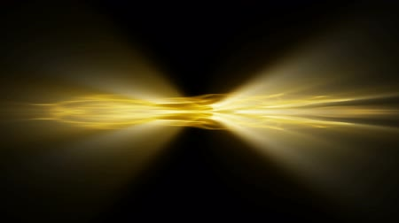 eixo : Event Horizon 0109: Video background of an event horizon shining light (Loop). Stock Footage