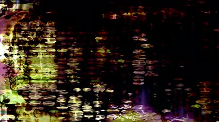 сетка : Video Background 2290: Abstract digital data forms pulse and flicker (Loop).