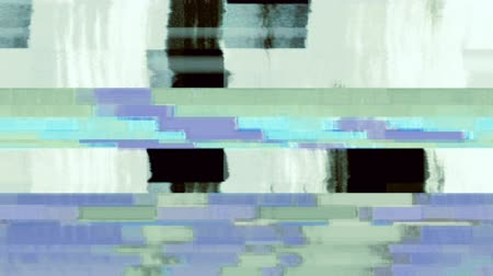Data Glitch 067: Digital video malfunction (Loop). Stok Video