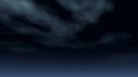 Clouds 1515: Nighttime clouds drift by (Loop).