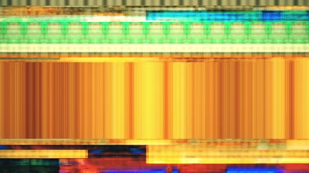 distorsiyon : Data Glitch 036: Streaming video malfunction (Loop). Stok Video