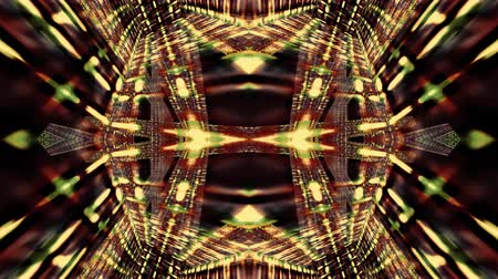 Video Background 2351: A futuristic kaleidoscope of digital light (Loop).