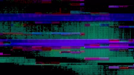 Glitch 1042: Digital noise video damage (Loop).