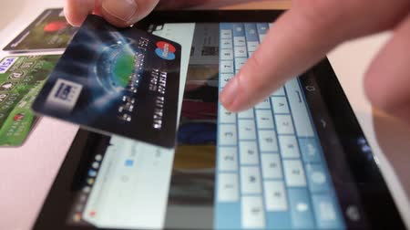 sipariş : Shopping online with credit card
