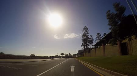 majorság : Adelaide, South Australia, vehicle POV driving through Henley Beach and Grange beachside suburbs, from The Esplanade and into Seaview Road
