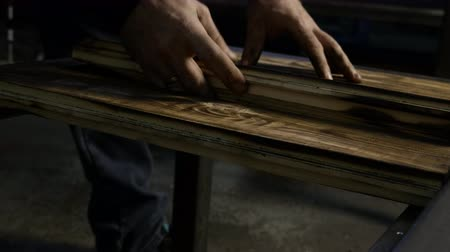 madeira : Working with wood, close-up