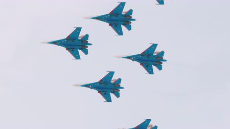 авиашоу : Russian Air Force flight groups airshow