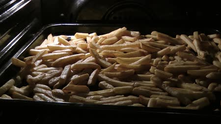 French fries baked in the oven
