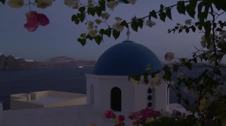 evening on Santorini