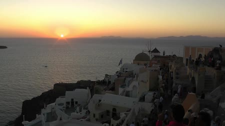 Sunset in Santorini - Greece