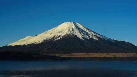 japan : Mt Fuji from Lake Yamanaka