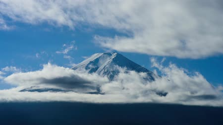 mraky : Movement of mount Fuji and cloud