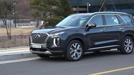 vzhled : Appearance of a new HYUNDAI Palisade 2018