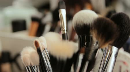 Close up on beauty tools and gadgets ion a beauty saloon