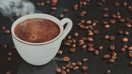 coffe : cup of coffee Stock Footage