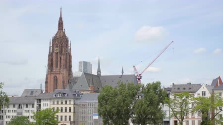 Frankfurt am main, June 2017 in good weather.