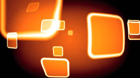 sylvester : abstract orange background loop able Stock Footage