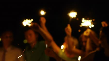 bengali : sparklers in the hands of the night