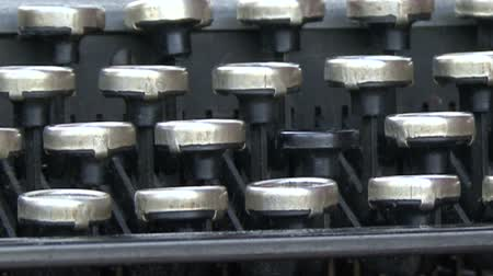 maszyna do pisania : work old typewriter keyboard
