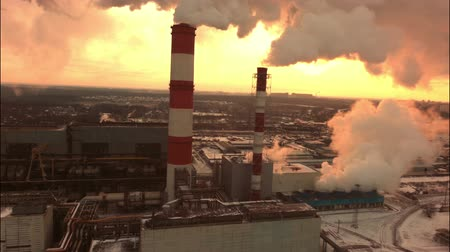 cooling : aerial coal fired power plant