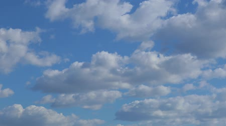 coulds : Time Lapse Clip of White Fluffy Clouds Over Blue Sky
