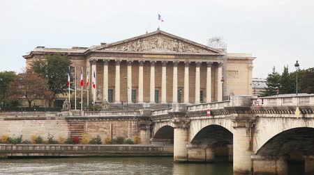 National Assembly (Assemblee  Nationale) building in Paris, France