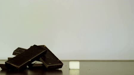 fructose : Chocolate and white sugar.