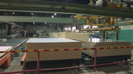 none : Production of laminated fiberboard. Fibreboard sheets for furniture production