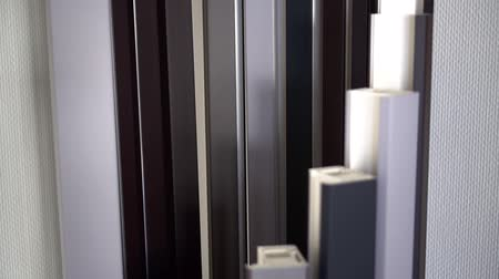 pvc frames : Production of plastic windows. Factory for PVC windows
