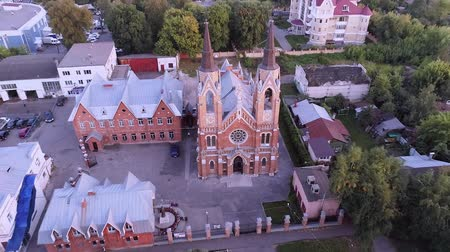 aerialphotography : Roman Catholic Church. Aerial photography
