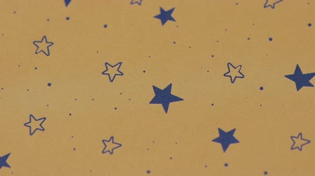 Delicate Romantic Background in blue stars