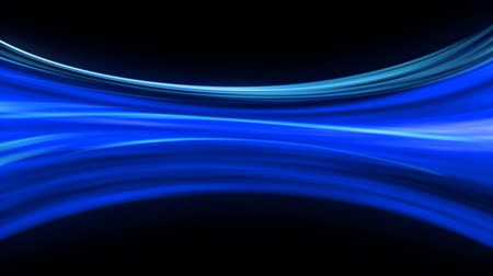 světlo : Blue colored flowing light  - loopable animation, 20 seconds