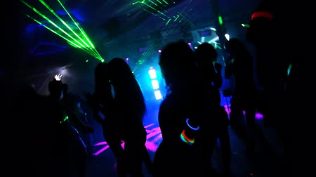 клуб : Night Club Стоковые видеозаписи
