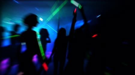 discotheque : Night Club Stock Footage