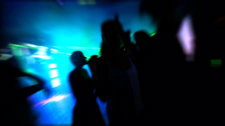 traverse : Night Club Stock Footage