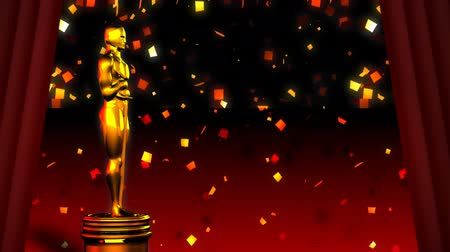 red background : Oscar red carpet