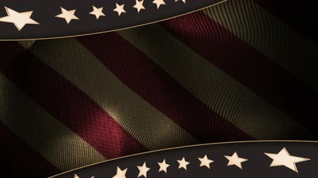 soldados : Patriotic Background 1 Vintage Color Stock Footage