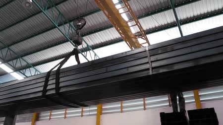 havai : Working with Crane over head in Steel warehouse