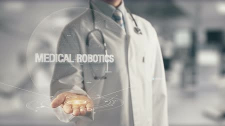 davinci : Doctor holding in hand Medical Robotics